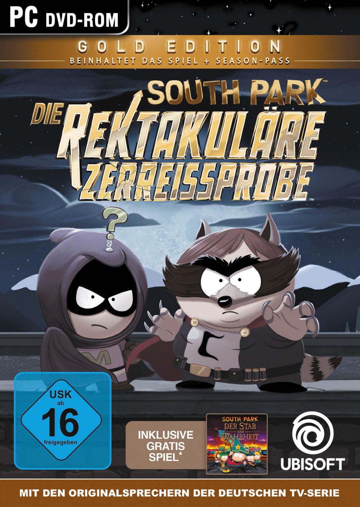 South Park - Die rektakuläre Zerreißprobe Gold ...