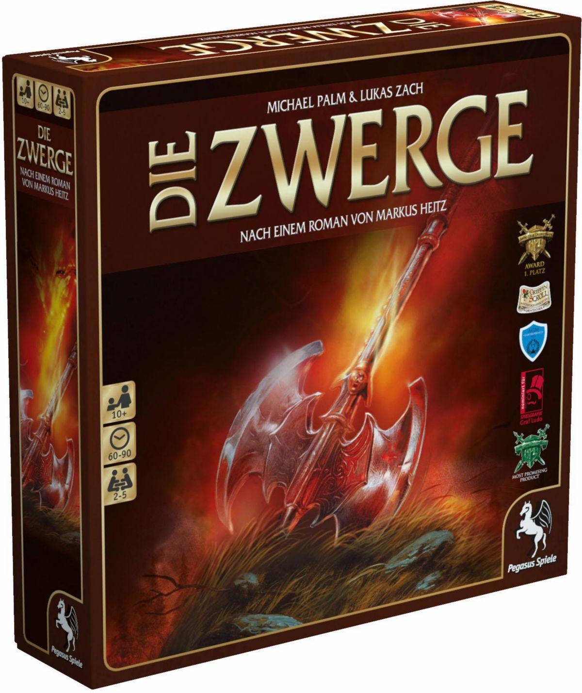 Pegasus Spiele Brettspiel, »Die Zwerge«