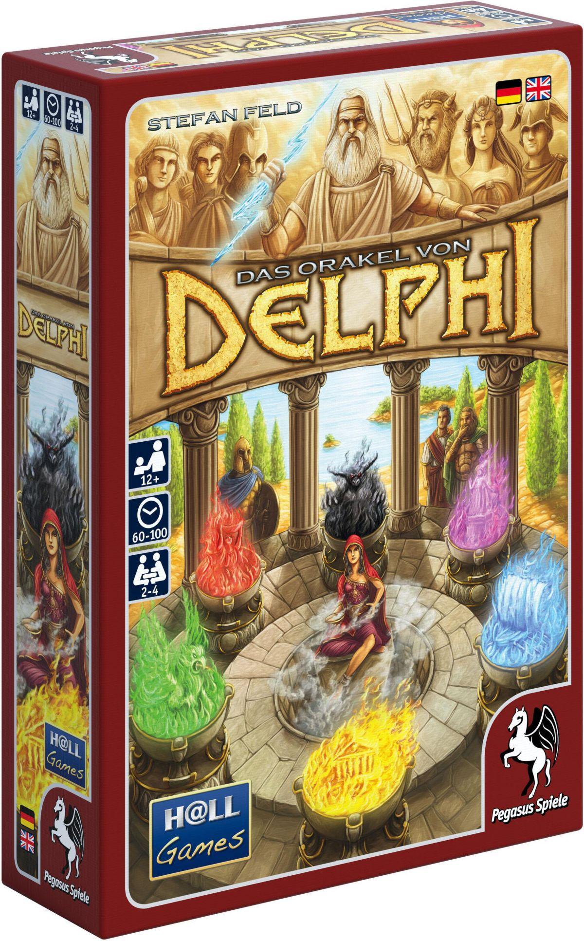Pegasus Spiele Strategiespiel Das Orakel von Delphi