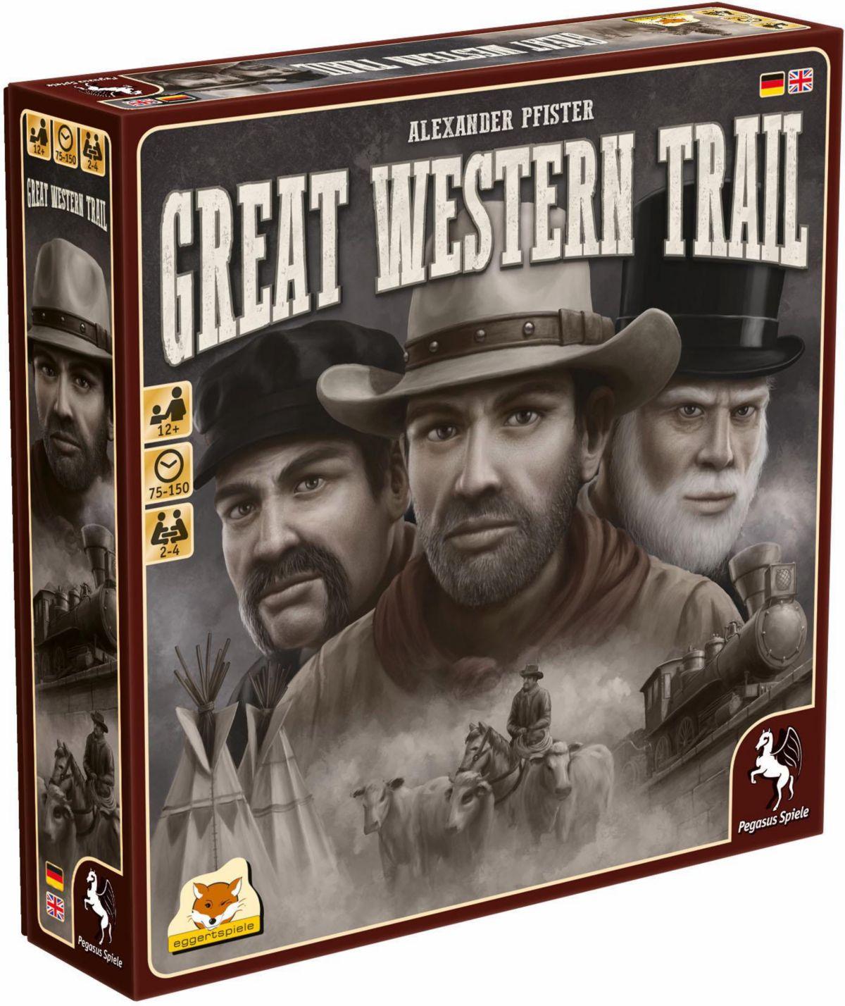 Pegasus Spiele Strategiespiel, »Great Western T...