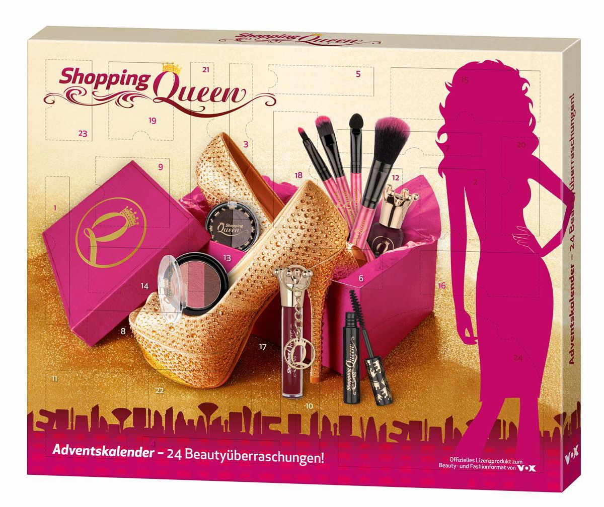 Shopping Queen, »Beauty-Adventskalender«