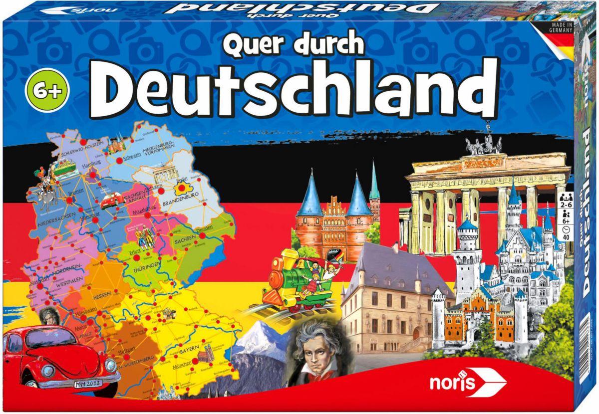 Noris Brettspiel, »Quer durch Deutschland«