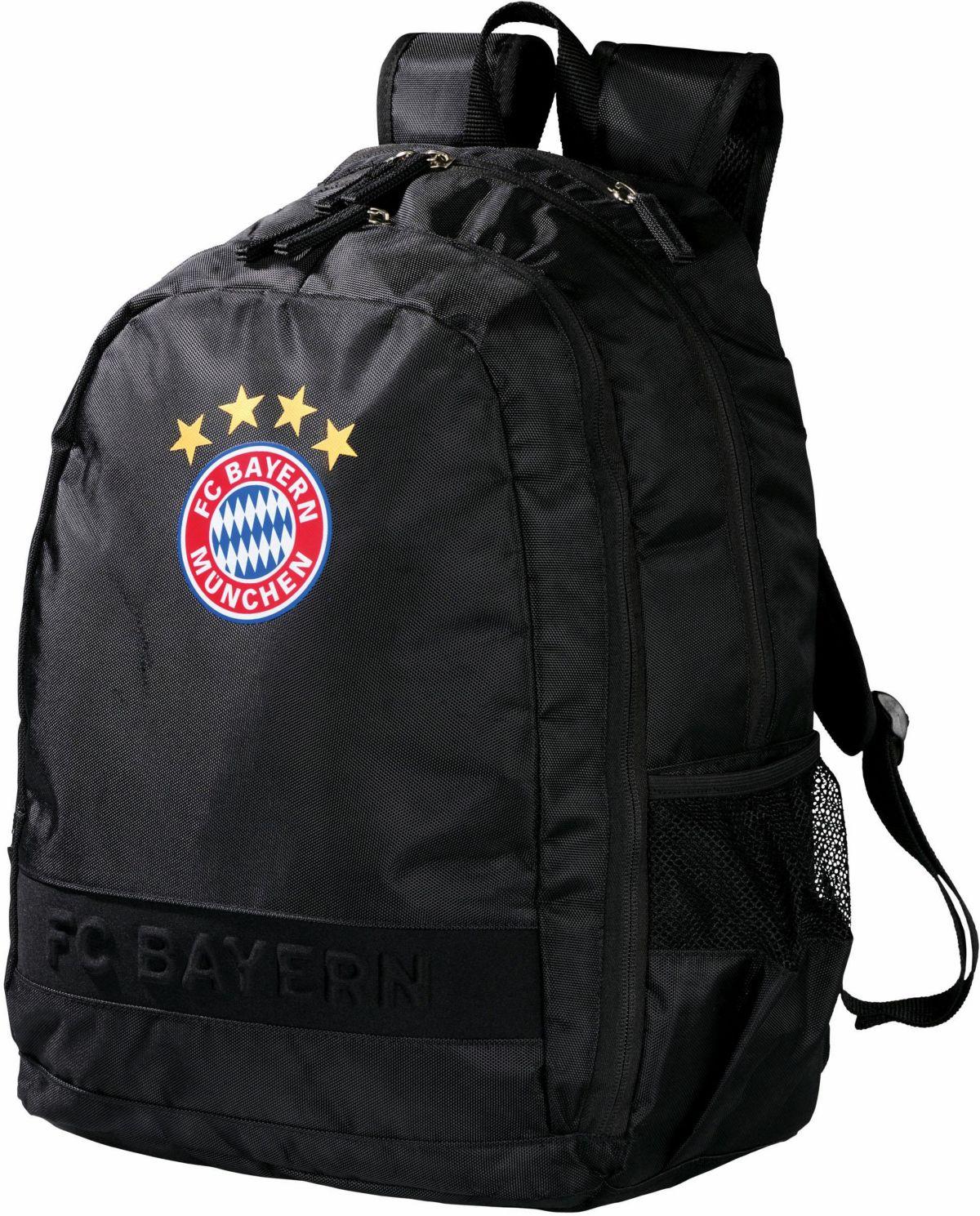 FC Bayern München Rucksack, »FC Bayern, schwarz «