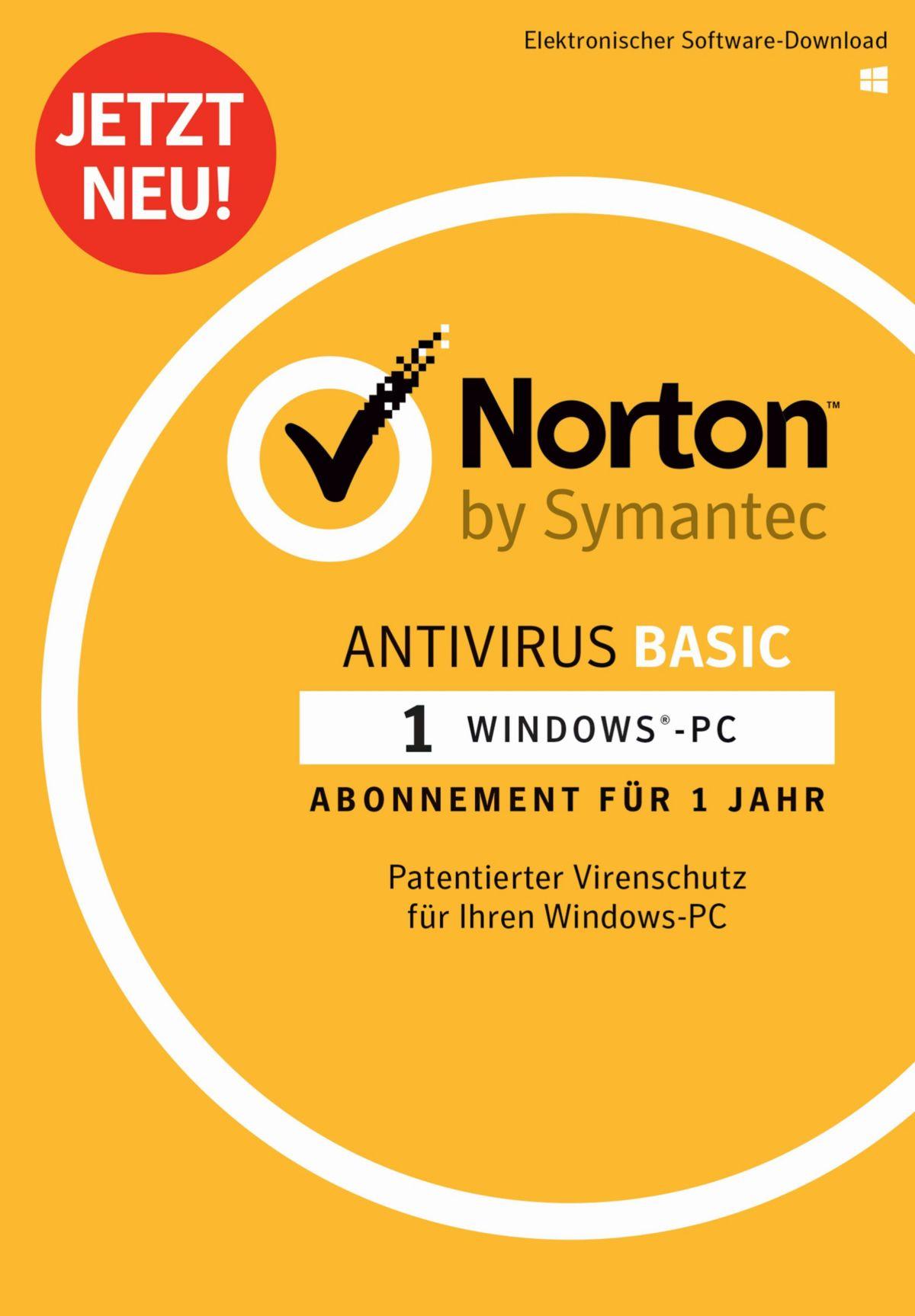 Norton Antivirus Basic 1.0 »1 Benutzer, 1 Gerät«