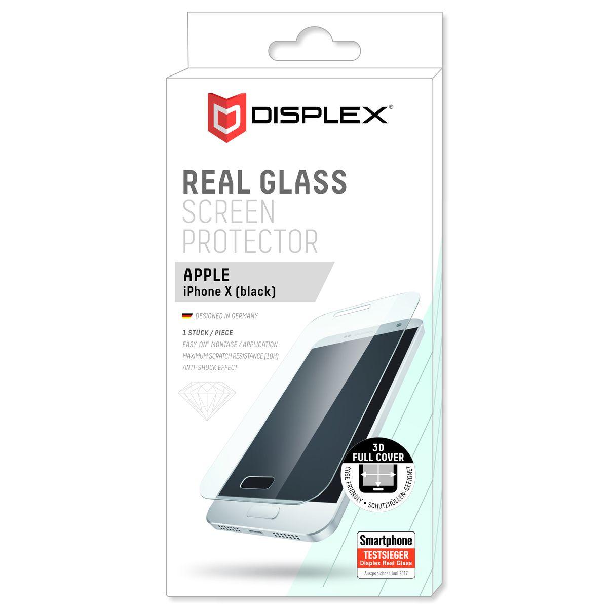 Displex Folie »Vollflächiges Displayschutzglas ...