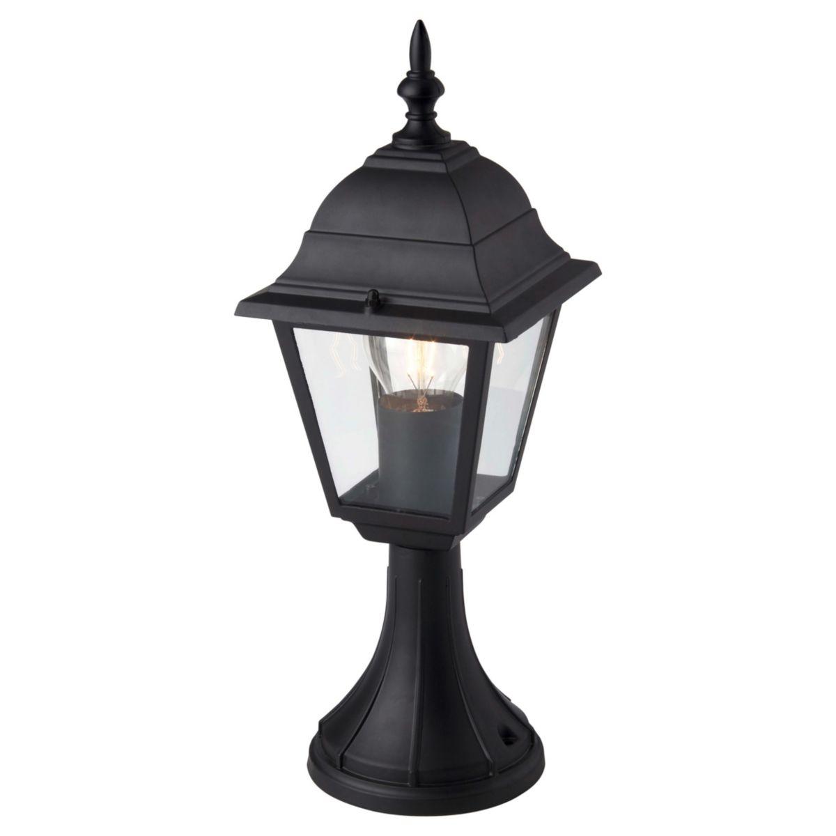 Brilliant Leuchten Newport Außensockelleuchte schwarz IP23