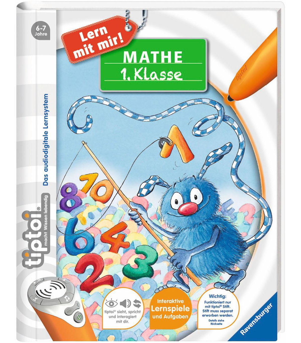 Ravensburger Buch, »tiptoi® Mathe 1. Klasse«