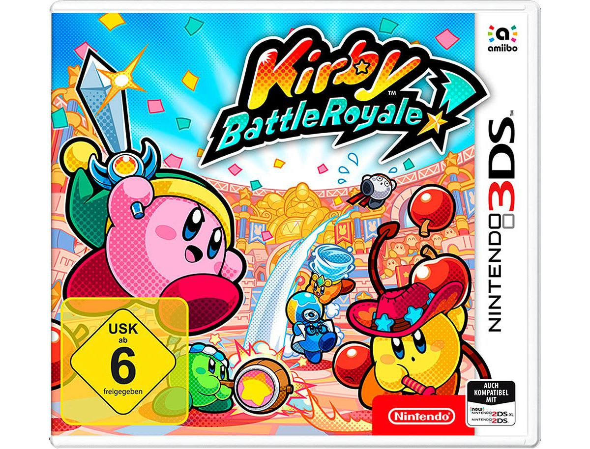 Kirby Battle Royale Nintendo 3DS