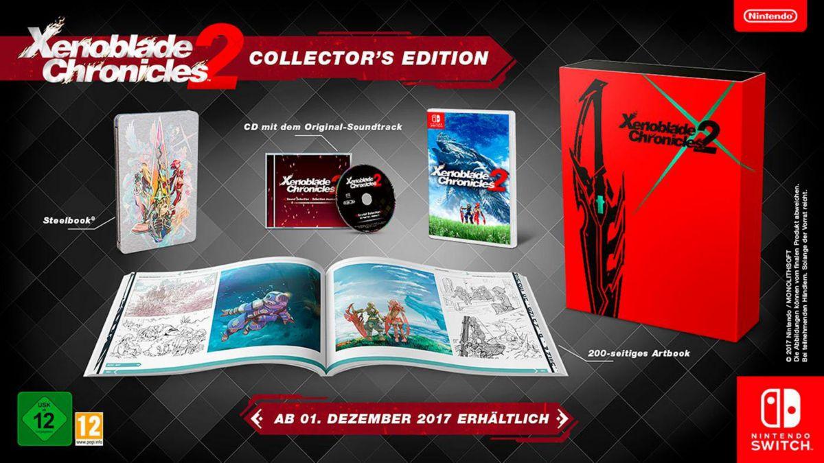 Xenoblade Chronicles 2 Collector´s Edition Nint...