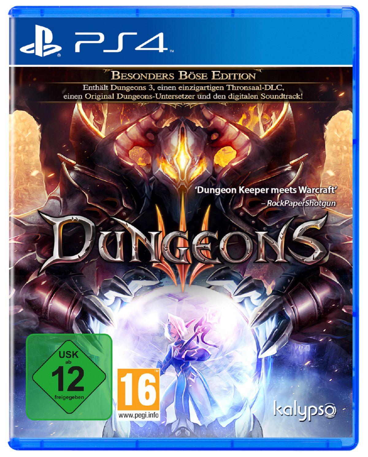 Kalypso Dungeons 3 »PS4«