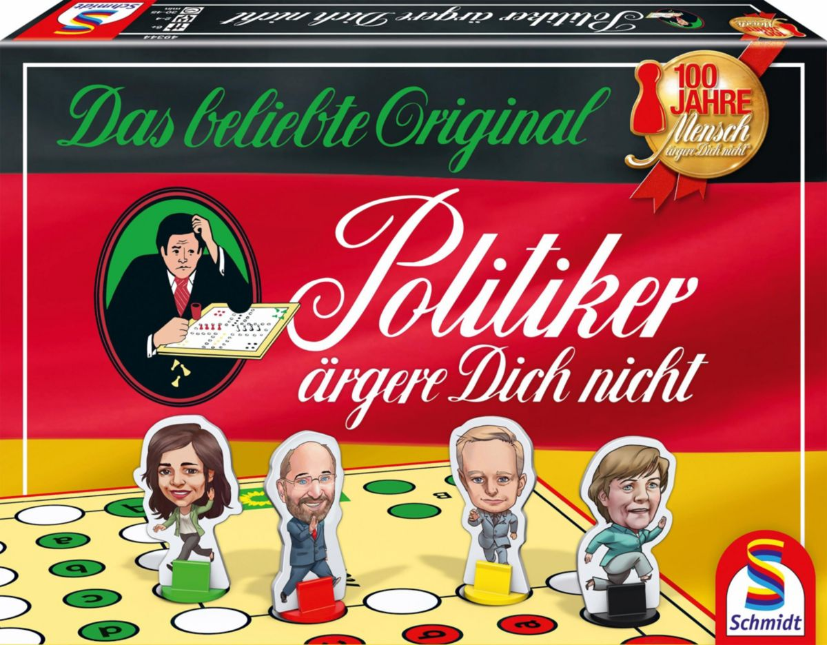 Schmidt Spiele Brettspiel, »Politiker ärgere Di...