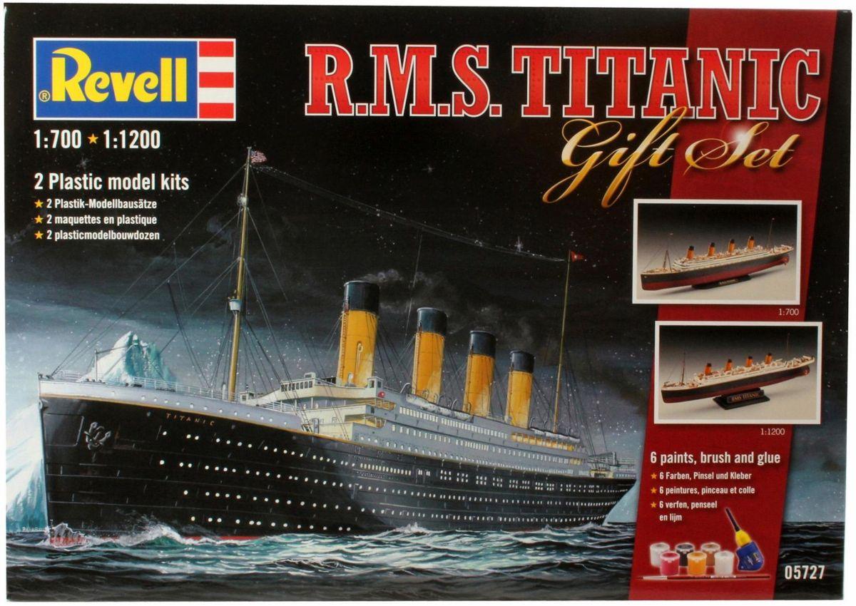 Revell Modellbausatz 2 Schiffe mit Zubehör, »Ge...