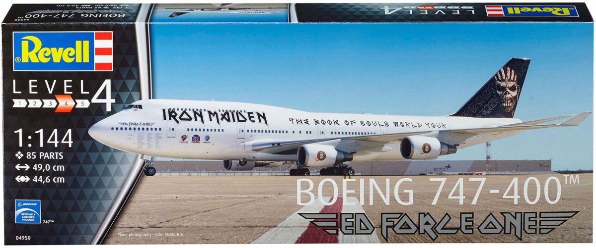 Revell Modellbausatz Flugzeug, »Boeing 747-400 ...