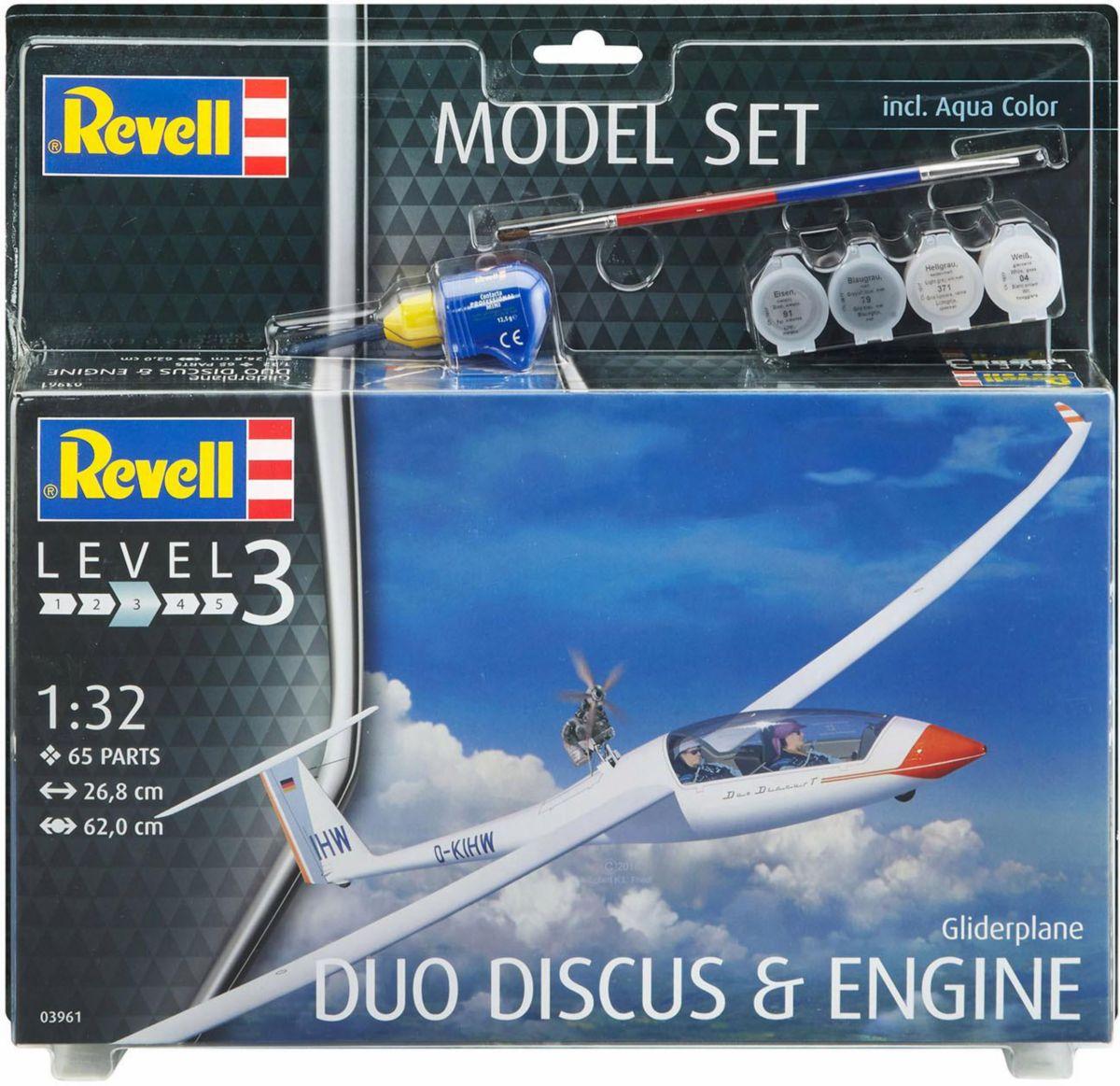 Revell Modellbausatz Flugzeug mit Zubehör, »Mod...