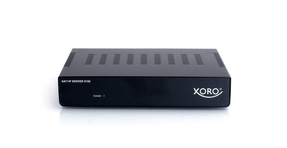XORO SAT>IP Server 8100 zur Erw. der Satanlage ...