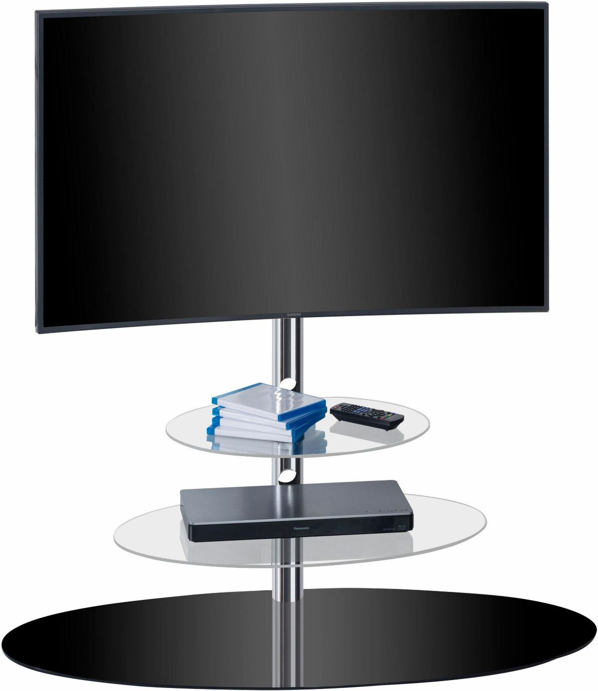 MAJA »TV 1634« TV-Rack, Breite 110 cm