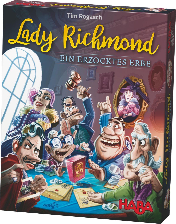 HABA® Familienspiel, »Lady Richmond - Ein erzoc...