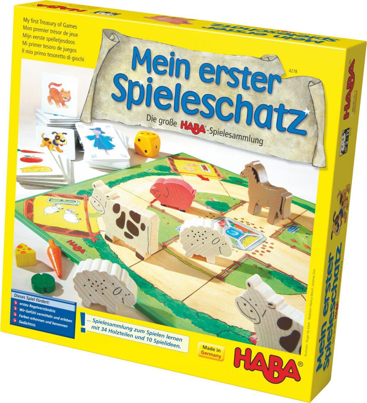 HABA® Kinderspiel, »Mein erster Spieleschatz - ...