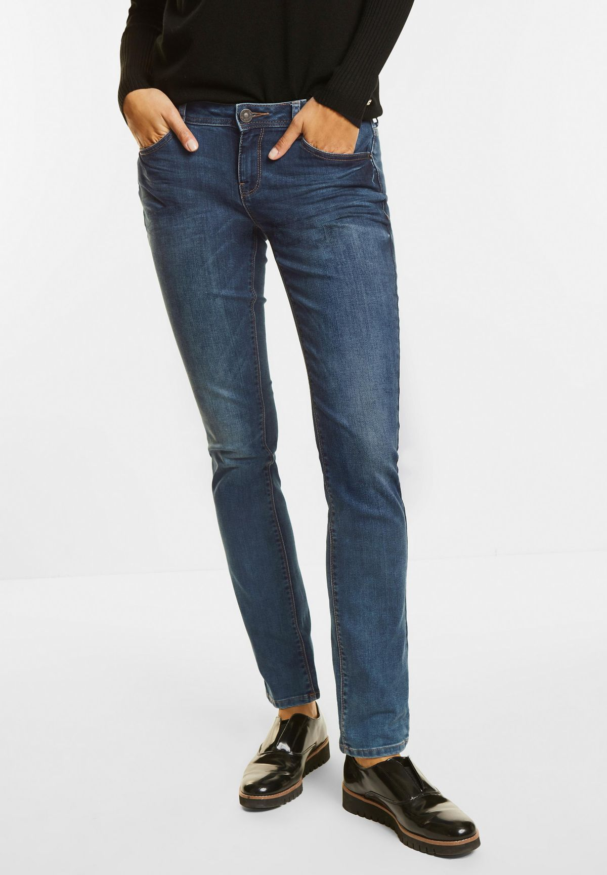 Street One Bequeme 5-Pocket Style Jeans