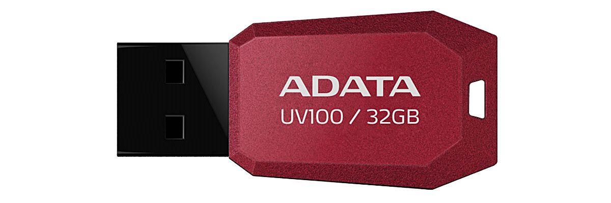 ADATA USB-Stick »USB 2.0 Stick UV100 Red 32GB«
