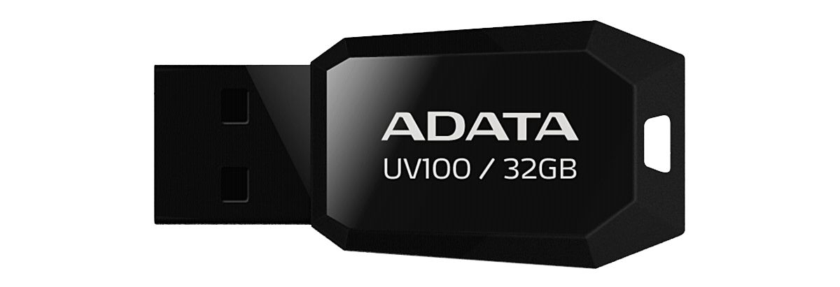 ADATA USB-Sticks »USB 2.0 Stick UV100 Black 32GB«