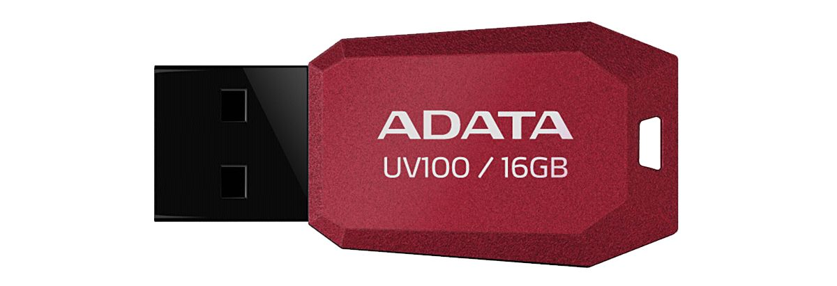 ADATA USB-Sticks »USB 2.0 Stick UV100 Red 16GB«