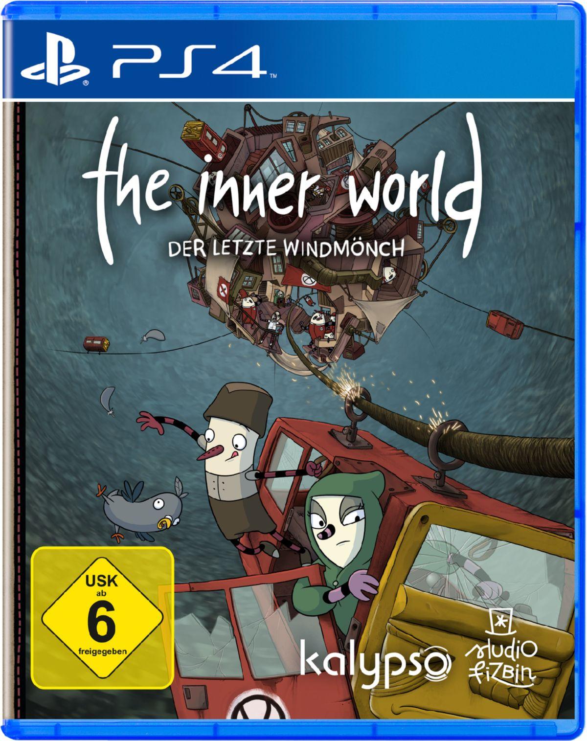 NBG The Inner World - Der letzte Windmönch »PS4«