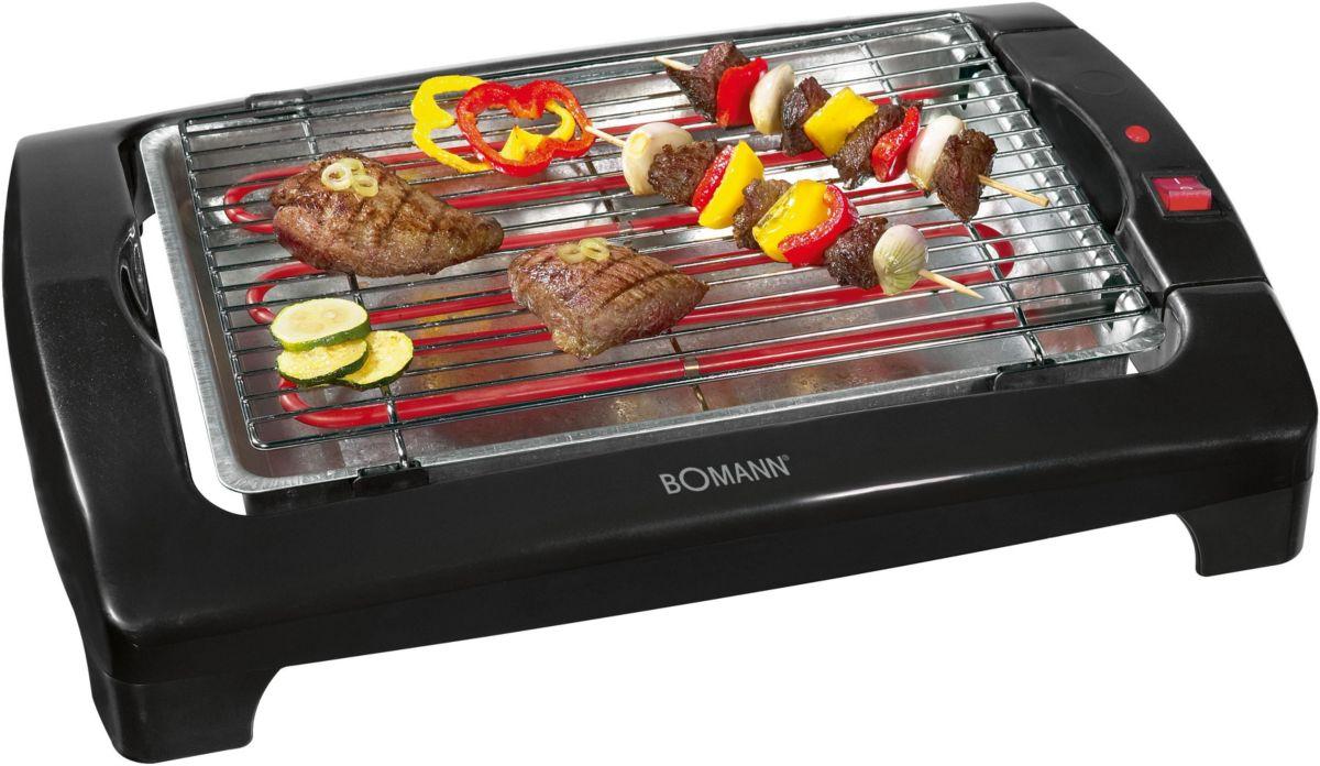 Bomann Barbeque-Tischgrill BQ 1240 N CB, 2000 Watt