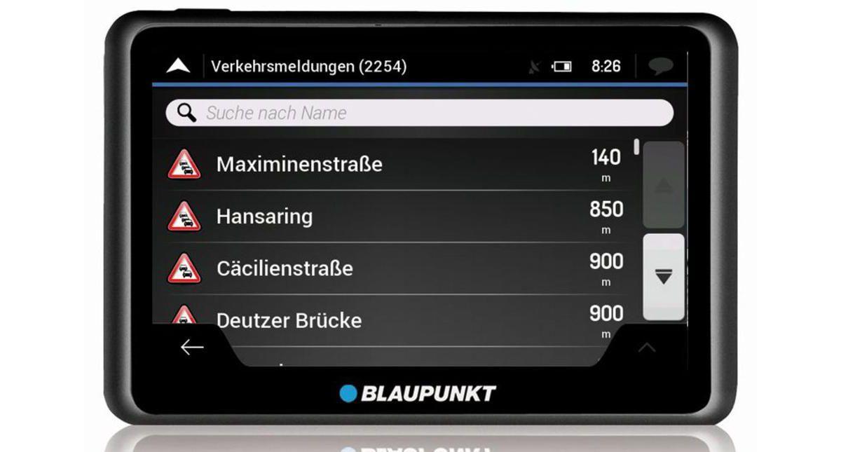 Blaupunkt Navigationsgerät »Travelpilot 55 Acti...