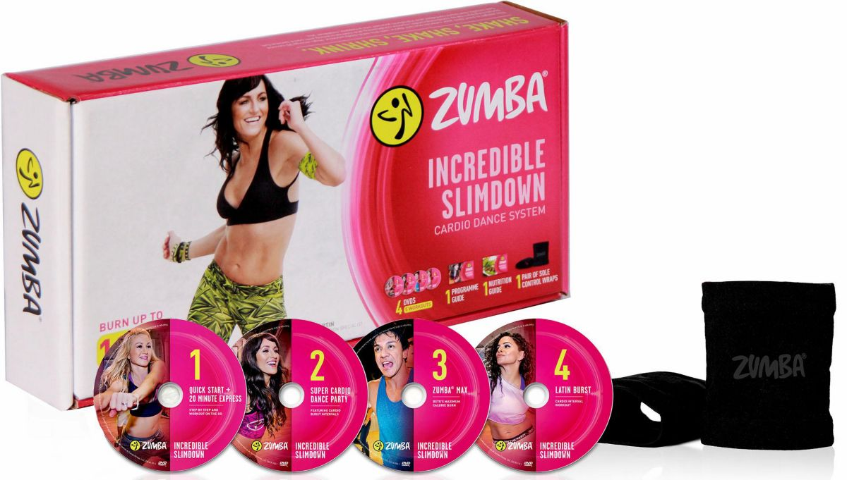 Zumba® Fitness Workout-DVD-Set, 5teilig, »Incre...