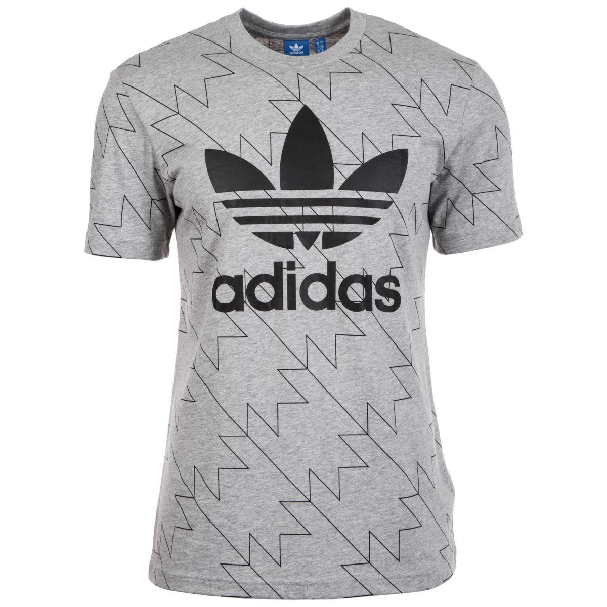 adidas Originals T-Shirt »Trefoil Aop« 099ec73c32