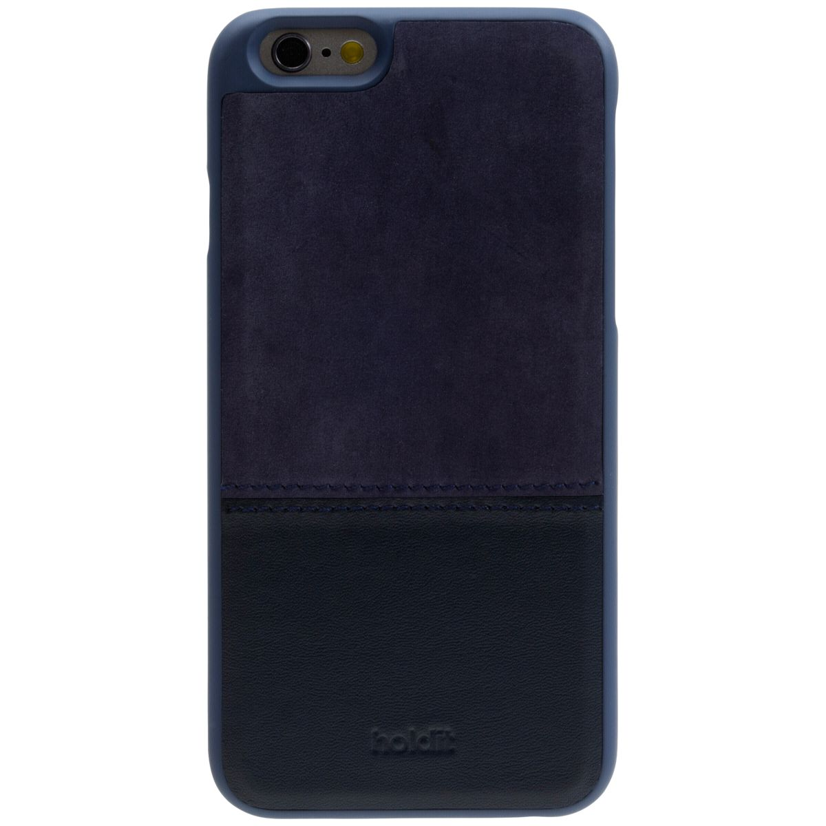 7d39fc644c955 holdit Handytaschen »Selected Case for iPhone 6 6s Blue leather suede«
