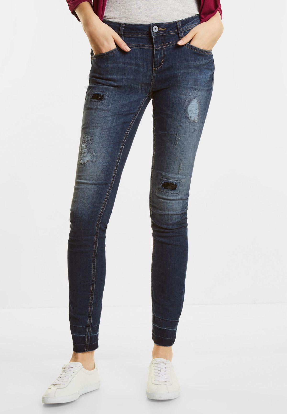Street One Heavy Used Slim Jeans Kathi