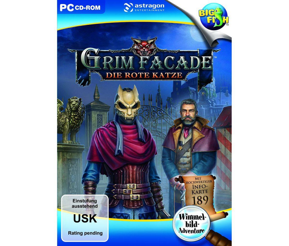 Astragon PC - Spiel »Grim Façade: Die Rote Katze«