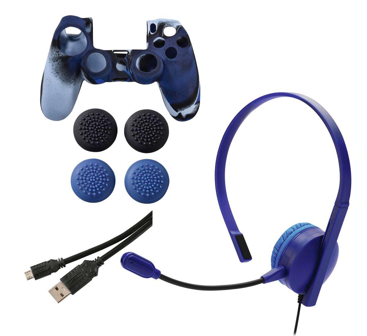Hama Zubehör Set f. PS4/Slim/Pro Dualshock Cont...