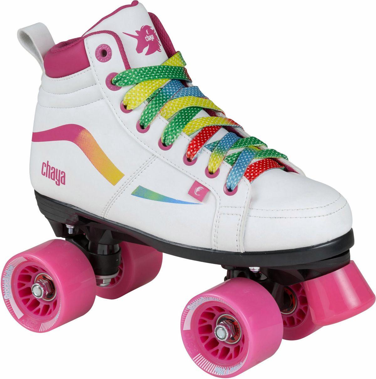 Chaya Rollerskates, weiß-pink, »Glide Unicorn«