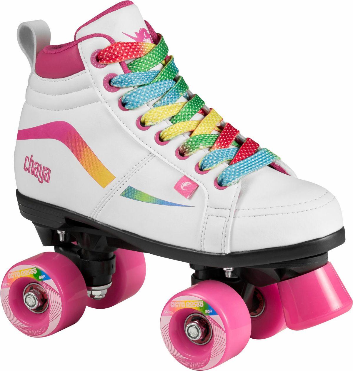 Chaya Rollerskates, weiß-pink, »Glide Kids Unic...