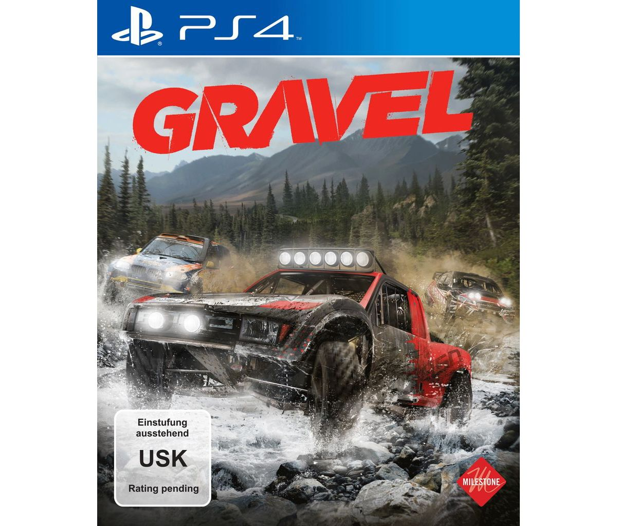 Milestone Playstation 4 - Spiel »Gravel«
