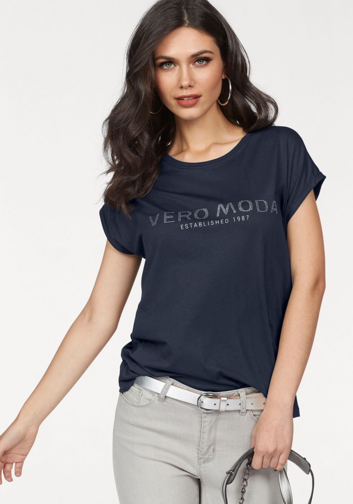 Vero Moda Rundhalsshirt »VERO«