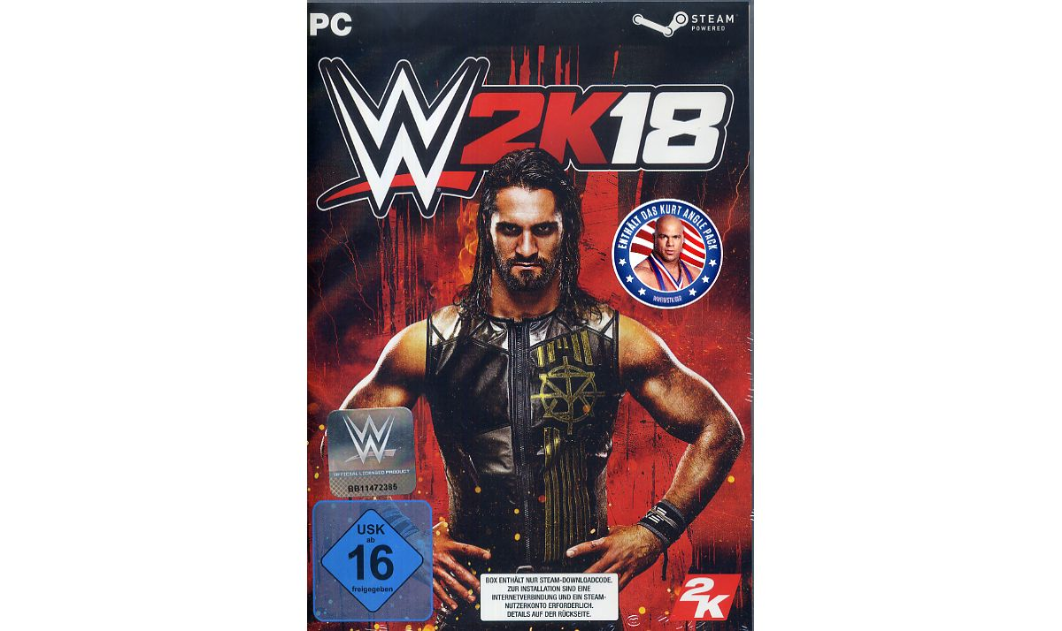 Take 2 WWE 2K18 DayOne Edition (DLC only) »PC«