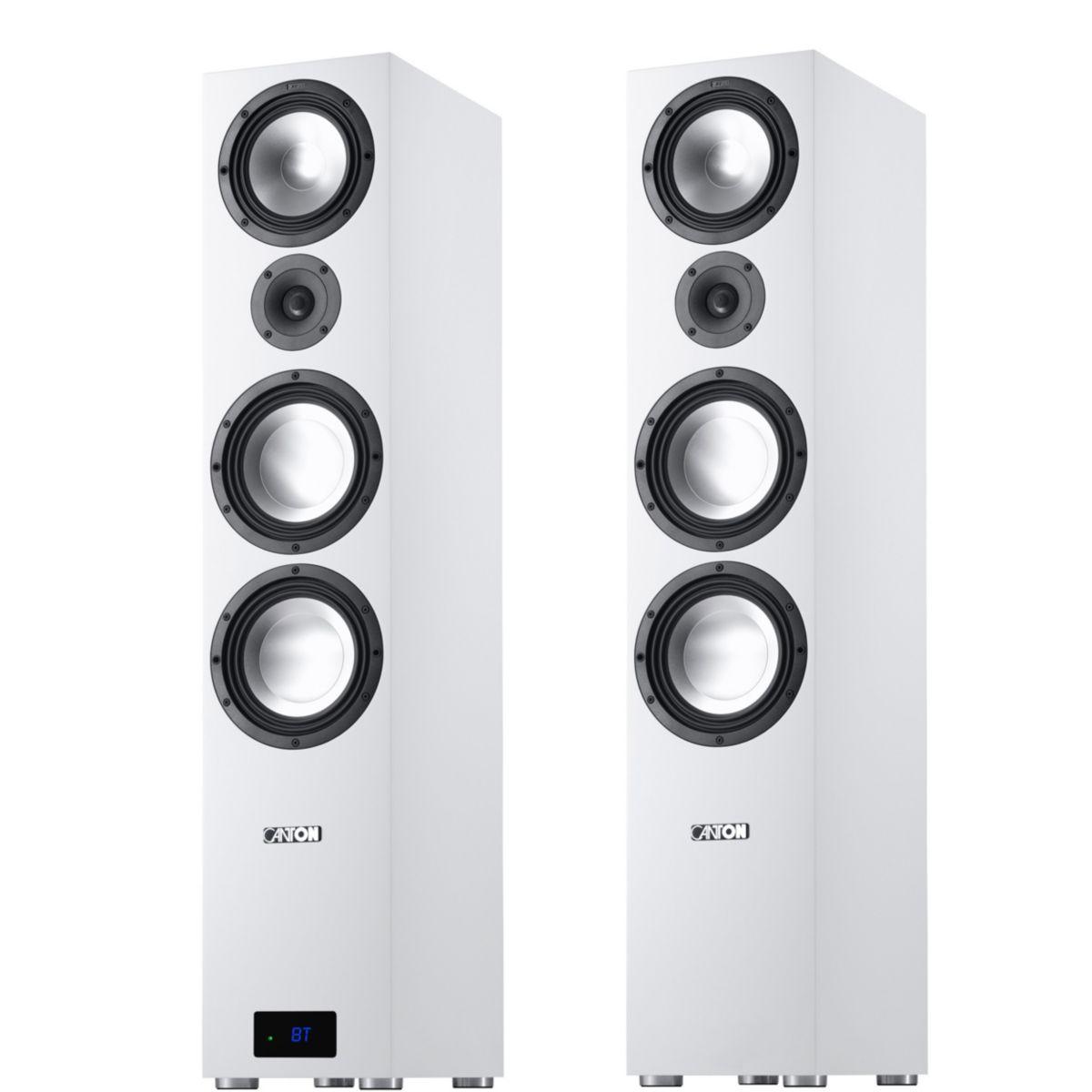 Canton (Paar) 3-Wege Aktivlautsprecher / Bassreflexsystem mit Bluetooth »GLE 496.2 Active BT«