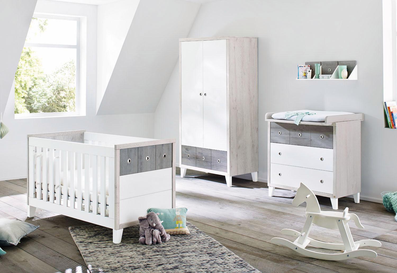 Pinolino Babyzimmer Set (3 Tlg) Kinderzimmer, »Harper Breit«
