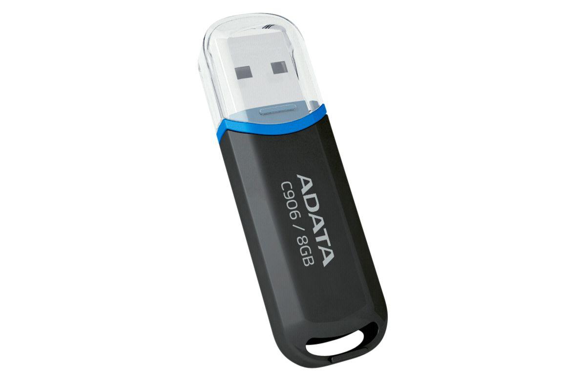 ADATA USB-Stick »USB 2.0 Stick C906 Black 8GB«