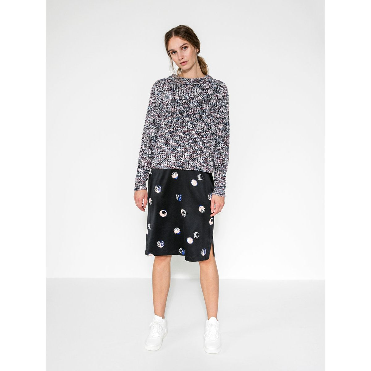 Pieces Strick Pullover