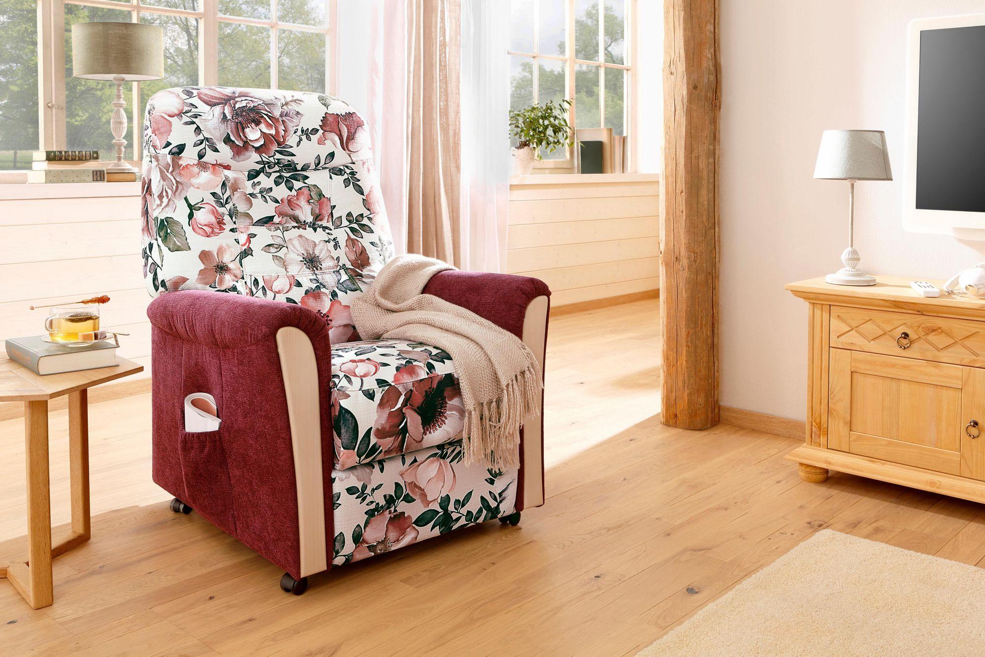 Home Affaire TV Sessel »Scope«, Holzchatosen, Federkern, Mit Und Ohne Motor  Und Aufstehhilfe