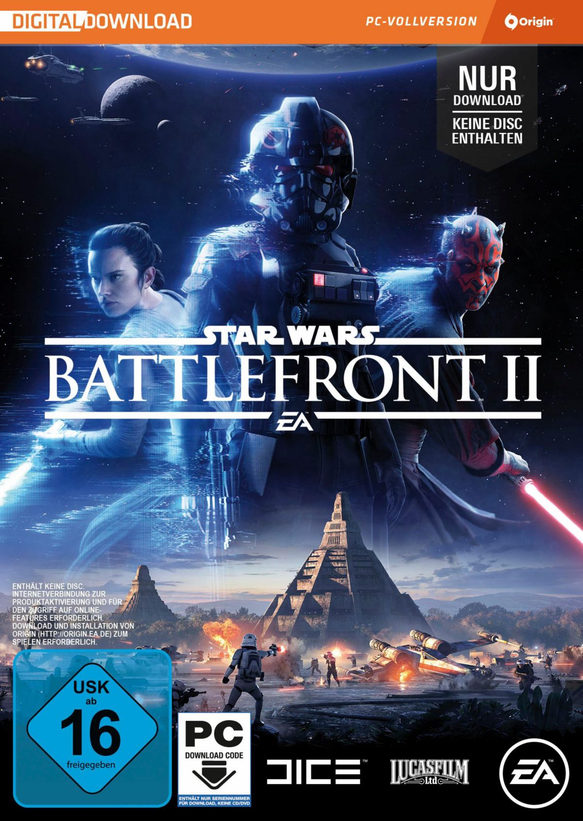 Star Wars Battlefront 2 (Code in der Box) PC
