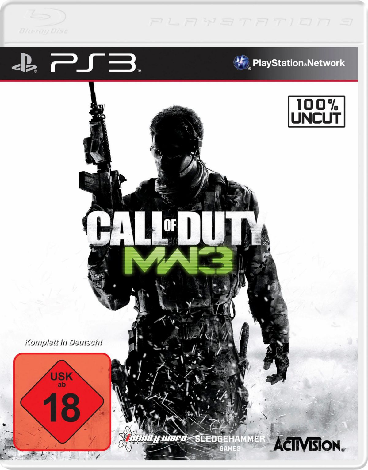 Call of Duty: Modern Warfare 3 PlayStation 3