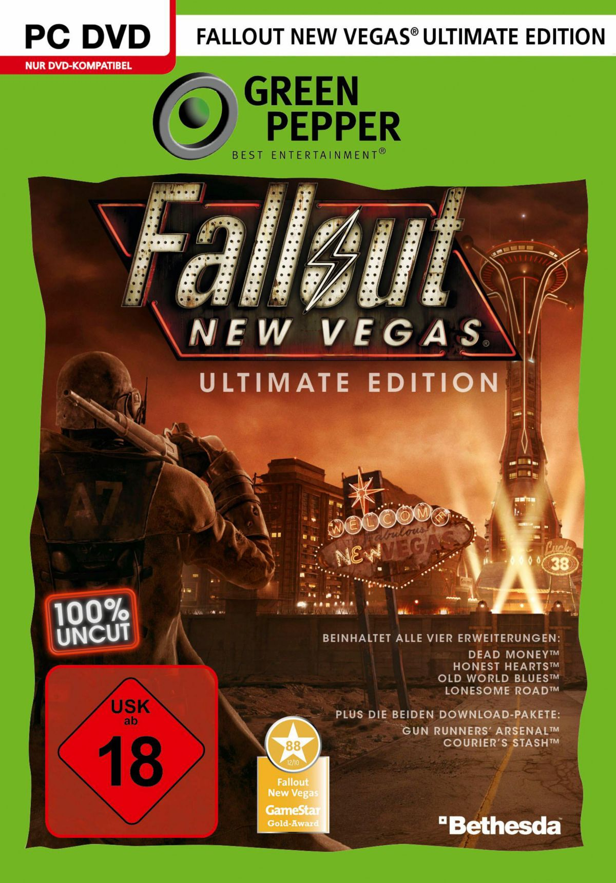 Fallou New Vegas - Ultimate Edition PC (DVD-ROM)