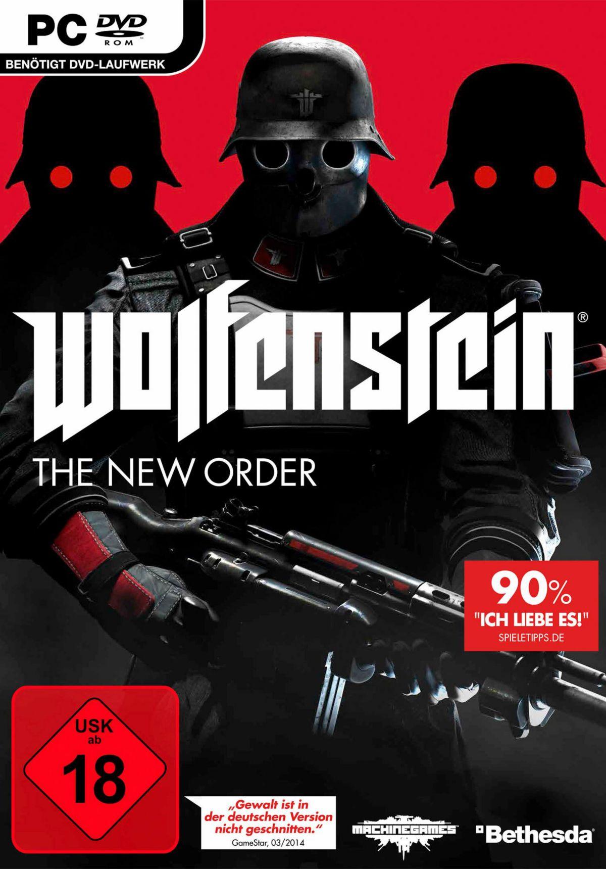 Wolfenstein: The New Order PC (DVD-ROM)