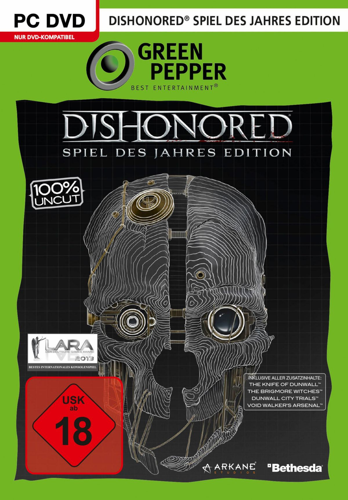 Dishonored - Spiel des Jahres Edition PC